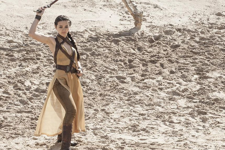 Jessica Henwick plays new character Nymeria in the current season of Game Of Thrones. -- PHOTO: HBO ASIA