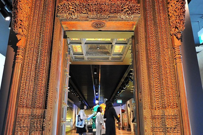 The Indian Heritage Centre, the first museum dedicated to the South Asian community. -- ST PHOTO: LIM YAOHUI