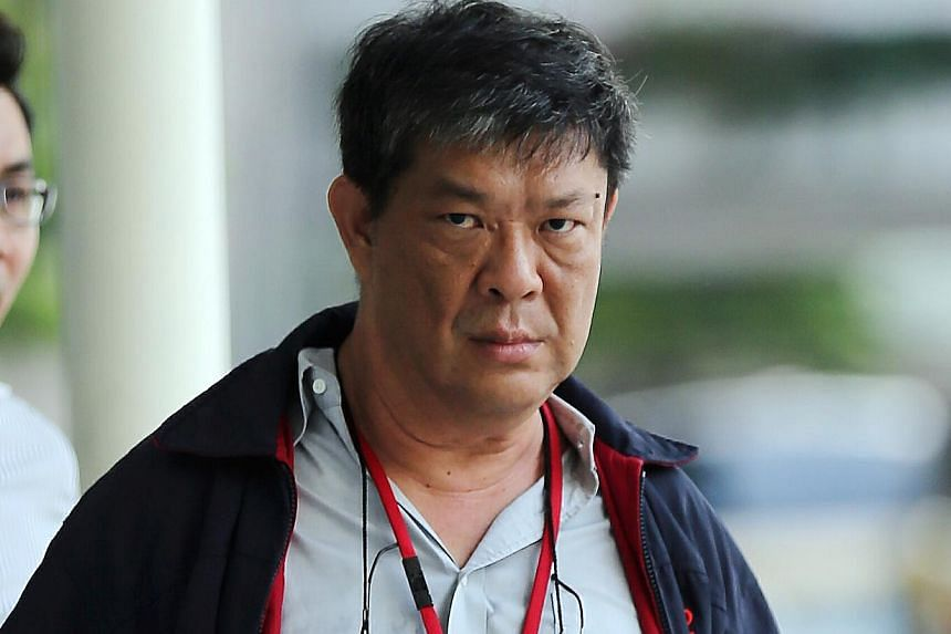 Cheng Hoe Huat was found guilty after a two-day trial of molesting the student three times in the male toilet of Bishan Junction 8 shopping centre on Nov 13, 2013. -- ST PHOTO: WONG KWAI CHOW