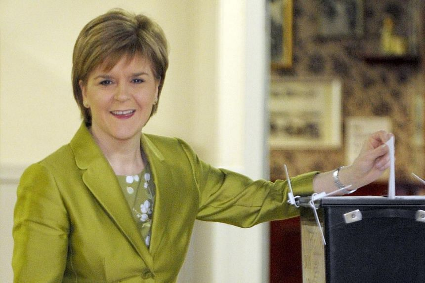For Ms Nicola Sturgeon, Scotland's First Minister and leader of the Scottish National Party, keeping the dreams of her giddy supporters alive will be her happy challenge.