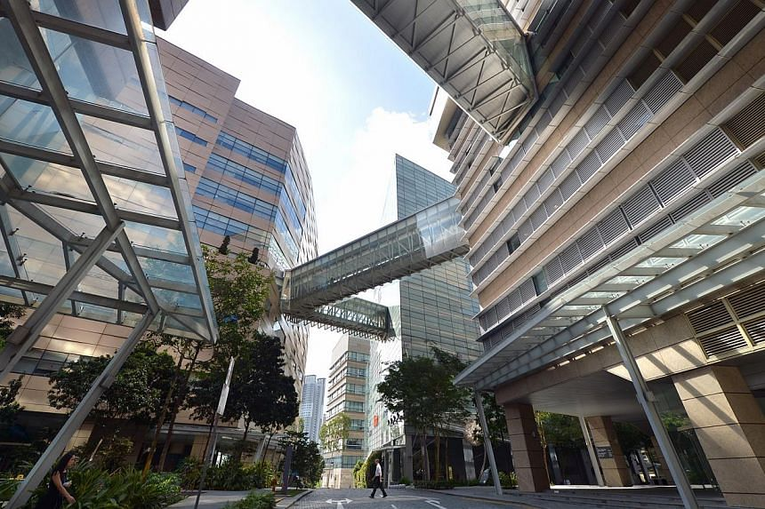 The Biopolis complex at Buona Vista. Topics from vaccine design to using mouse skin to understand inflammatory skin diseases in humans were on the agenda as the European Molecular Biology Organisation (EMBO) Gold Medallist Symposium 2015 opened at Bi