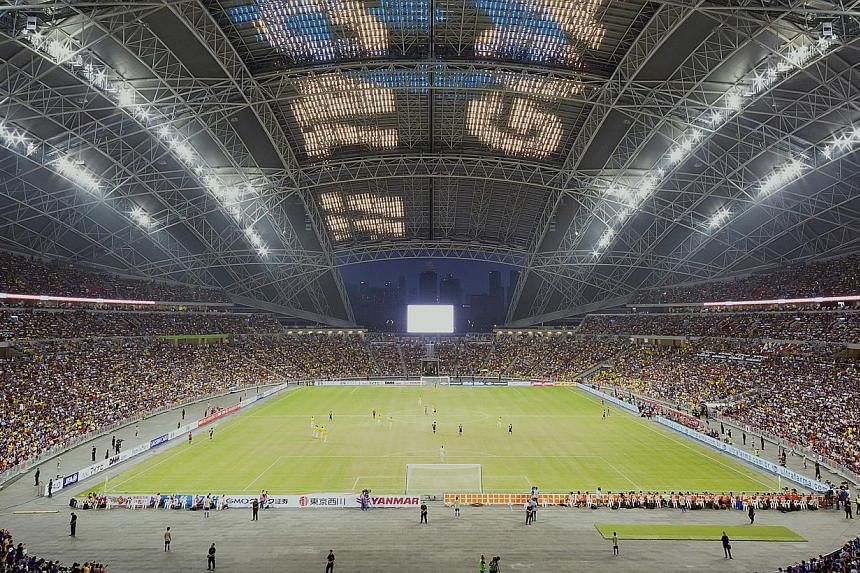 The National Stadium at Sports Hub. Ticket sales for the upcoming SEA Games in June have been better than expected, with some popular events likely sold out, revealed Minister for Culture, Community and Youth Lawrence Wong in Parliament on Monday. --