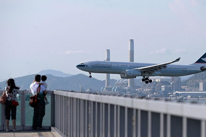 Singaporean air steward Vincent Chee is in critical condition after suffering a stroke while on a Cathay Pacific flight from Hong Kong to Frankfurt on May 7, 2015. -- PHOTO: AFP
