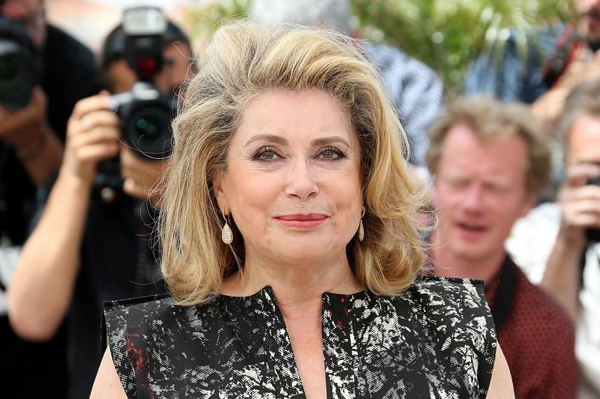 French actress Catherine Deneuve posing during a photocall at last year's Canne Film Festival. -- PHOTO:  AFP