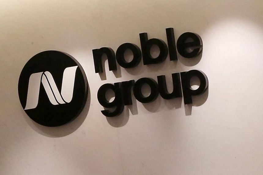 The Noble Group logo is seen at its headquarters in Hong Kong on March 23, 2015. Noble Agri, the agribusiness unit of Noble Group, announced on Tuesday the appointment of Matt Jansen as its chief executive officer with immediate effect. -- PHOTO: RET