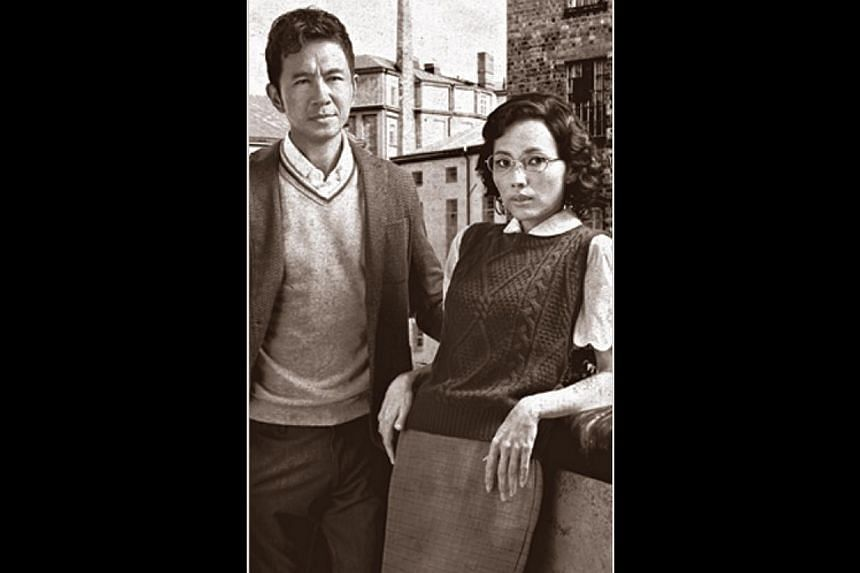 Adrian Pang and Sharon Au in The LKY Musical.