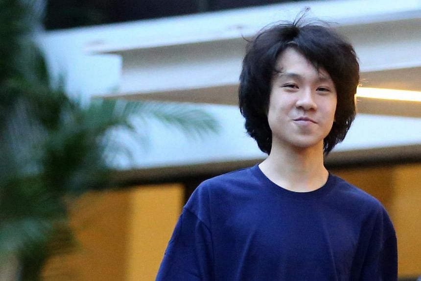 Teenage blogger Amos Yee was found guilty on May 12, 2015, of uploading an obscene image and making remarks intending to hurt the feelings of Christians.-- FILE PHOTO: JONATHAN CHOO