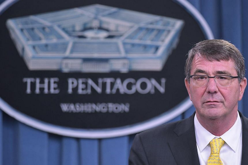 The Pentagon is considering sending United States military aircraft and ships to assert freedom of navigation around rapidly growing Chinese-made artificial islands in the disputed South China Sea, US Defence Secretary Ashton Carter said on Tuesday.