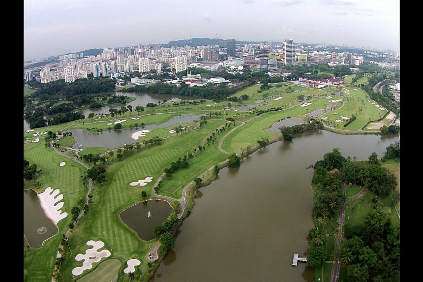 Frequent traveller Salrizuan Salman, who lives in Jurong East, said the new terminus would make it easier to go to Malaysia for holidays with his three children, including daughter Nur Hawa, eight. An aerial view taken from a drone of the Jurong Coun