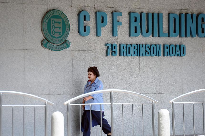 The interest rates for the Central Provident Fund (CPF) will remain the same from July 1 to Sept 30 this year. -- ST PHOTO: TIFFANY GOH