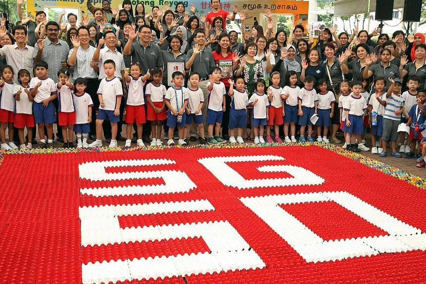 About $9 million will be set aside to support more than 300 ideas on how best to celebrate the nation's 50th birthday, surpassing the $5 million that was initially allocated at the beginning of the year. -- ST PHOTO: SEAH KWANG PENG