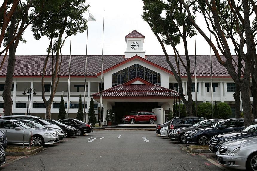 Jurong Country Club (JCC) has stepped in to freeze trading in its memberships, a day after it was announced that its 67ha property would be acquired and would make way for the high-speed rail terminus linking Singapore to Kuala Lumpur. -- ST PHOTO: O