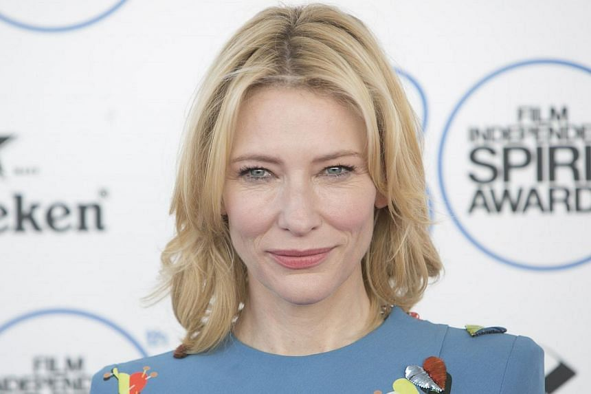 Award-winning Australian actress Cate Blanchett turned 46 yesterday - and the fact that she is still taking on top roles in Hollywood surprises even herself. -- PHOTO: AFP
