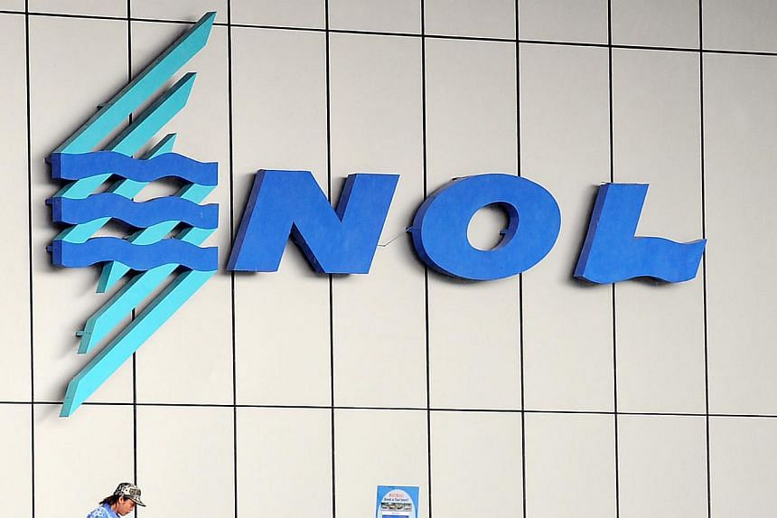 NOL reported a narrowing of net loss of US$11 million (S$14.6 million) in its first quarter ended April 3, thanks to cost savings of US$155 million and lower fuel cost. -- PHOTO: ST FILE