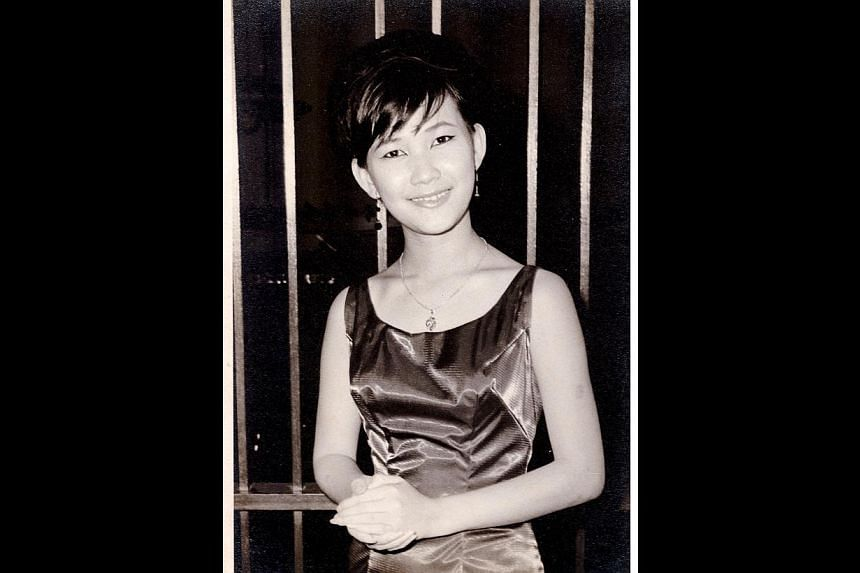 As a professional singer in the 1960s (above), Ms Veronica Young was dubbed the Connie Francis of Singapore. -- PHOTOS: DESMOND WEE, COURTESY OF VERONICA YOUNG