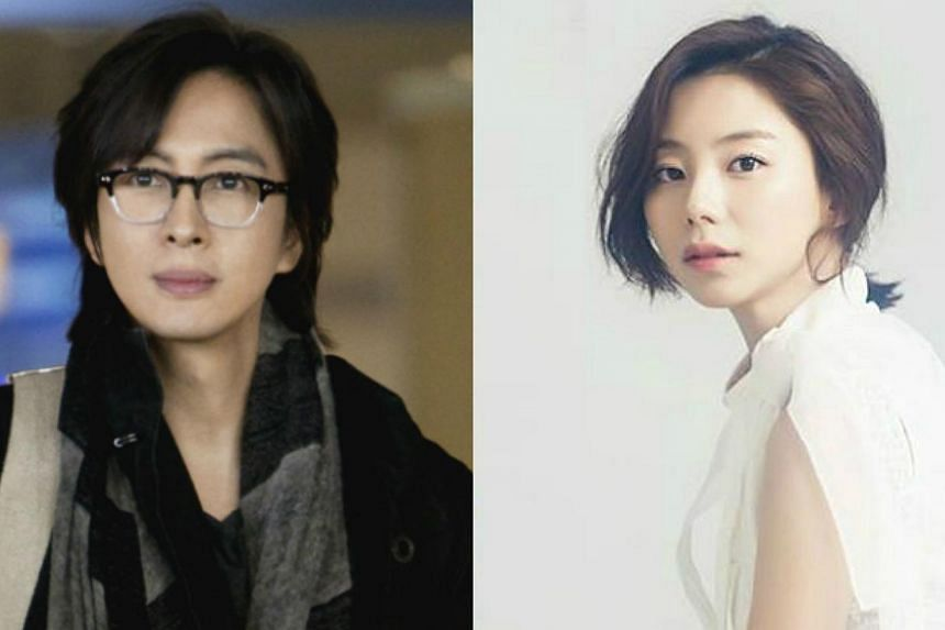 Bae Yong Joon, best known for his role in the drama Winter Sonata, started dating Park Soo Jinin February. -- PHOTO: KEYEAST ENTERTAINMENT/ FACEBOOK