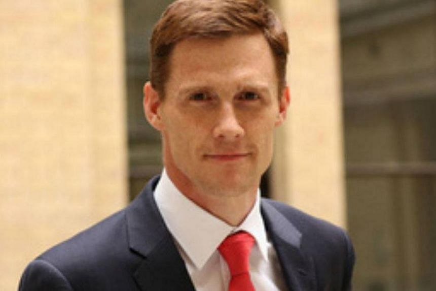 Britain's ambassador to Egypt John Casson (above) weighed in Wednesday with a quip on the controversy stirred by the justice minister's remark that becoming a judge was too lofty an ambition for sons of cleaners. -- PHOTO: FACEBOOK