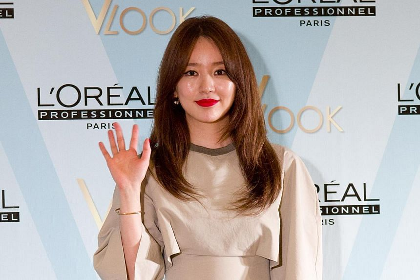 Popular South Korean actress Yoon Eun Hye is the guest star most coveted by the production team of the gameshow Running Man. But she does not seem to be too fond of the idea, which is based on a joke one of Running Man's hosts, Kim Jong Kook, has an