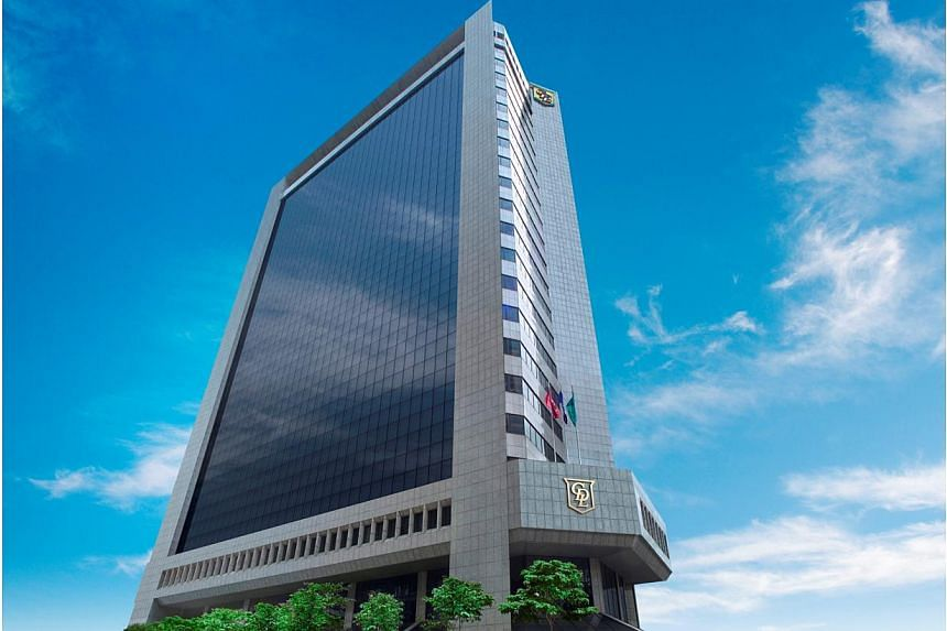 City House on Robinson Road, which helped developer City Developments Limited (CDL) net the Green Mark Pearl Prestige Award at the annual Building and Construction Authority (BCA) Awards on Thursday, May 14, 2015. -- PHOTO: CITY DEVELOPMENTS LIMITED