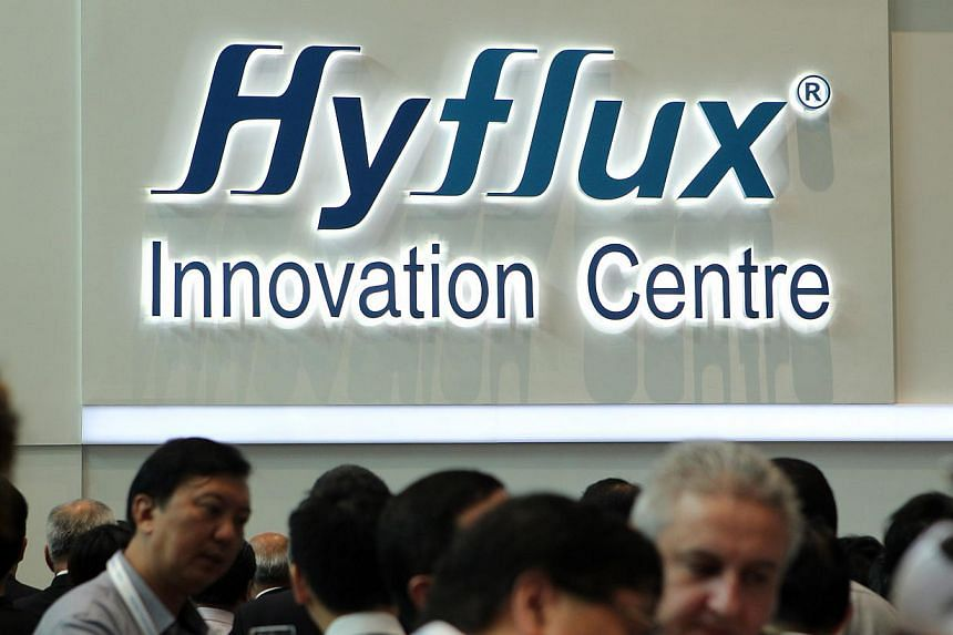 Environmental solutions company Hyflux registered declines in revenue and net profit in the first quarter ended March 31, due to lower level of engineering, procurement and construction activities. -- PHOTO: ST FILE