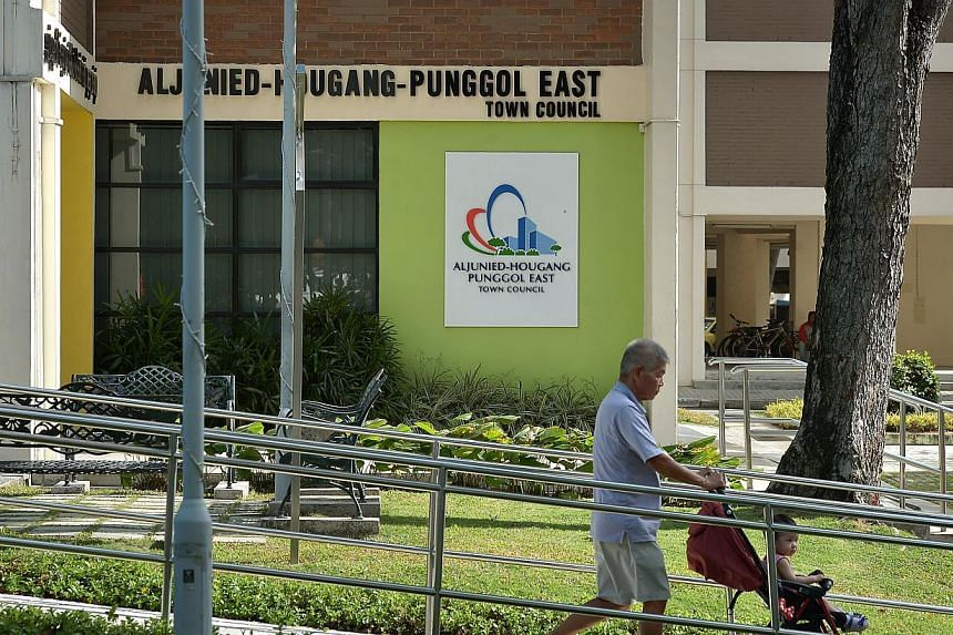 The Workers' Party (WP)-run Aljunied-Hougang-Punggol East Town Council is in need of the government grants being withheld from it and hopes to receive them soon, it said in a statement on Thursday, May 14, 2015. -- ST PHOTO: KUA CHEE SIONG