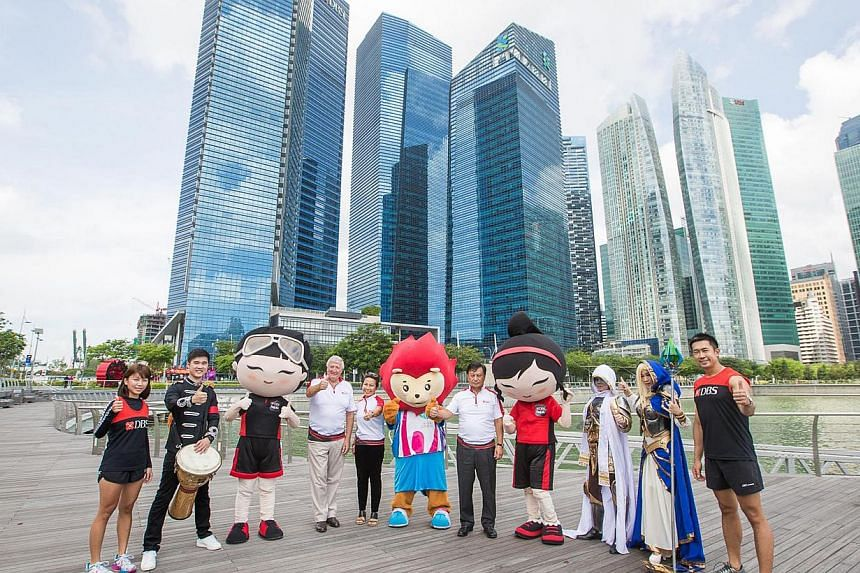 Event launch of the DBS Marina Bay Regatta at the Marina Bay City Gallery on April 8, 2015. -- PHOTO: ST FILE
