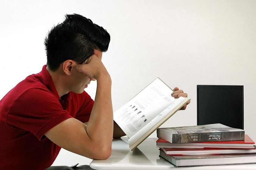 Singaporeans come out tops in maths, problem-solving, and even the amount of time spent on homework. -- PHOTO: ST FILE