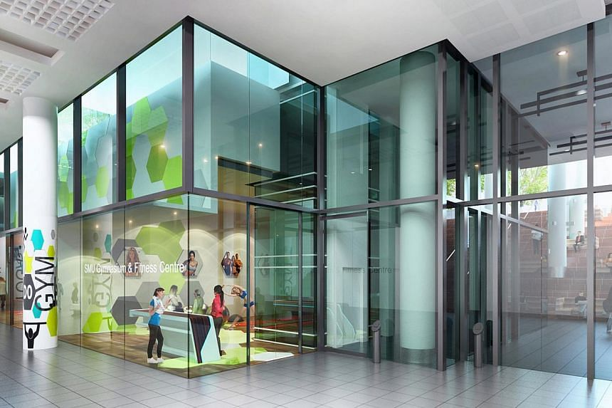 An artists' impression of theBasement Concourse. -- PHOTO: SMU