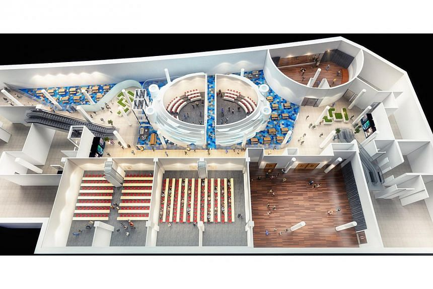 An artists' impression of the Creative Learning Centre. -- PHOTO: SMU