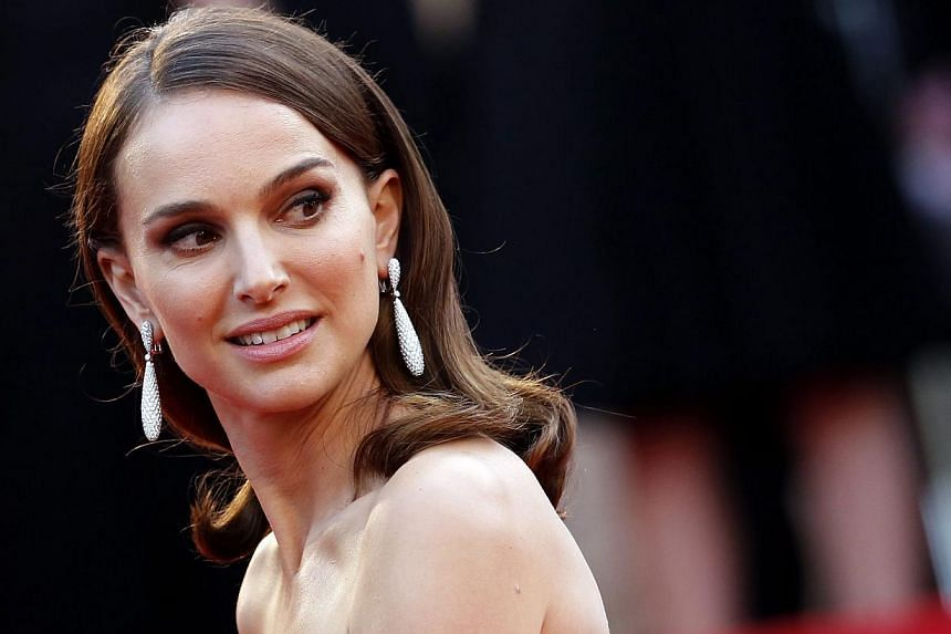 Actress Natalie Portman arriving at the 68th Cannes Film Festival in Cannes, France, on May 13, 2015. Portman will star in a biopic of former US first lady Jackie Kennedy that covers the four days after her husband John F. Kennedy's assassination. --