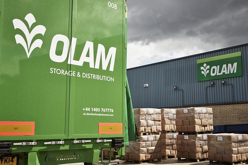 Olam International announced on Friday a 92.1 per cent slide to $31.26 million in net profit for its first quarter ended March 31, 2015, from $396.13 million for the year-ago period. -- PHOTO: OLAM INTERNATIONAL LTD