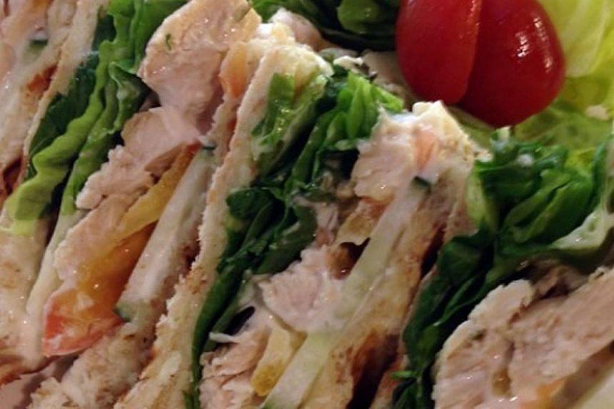 Chicken mayo sandwich -- PHOTO: MUNCH SALADSMITH & ROTISSERIE