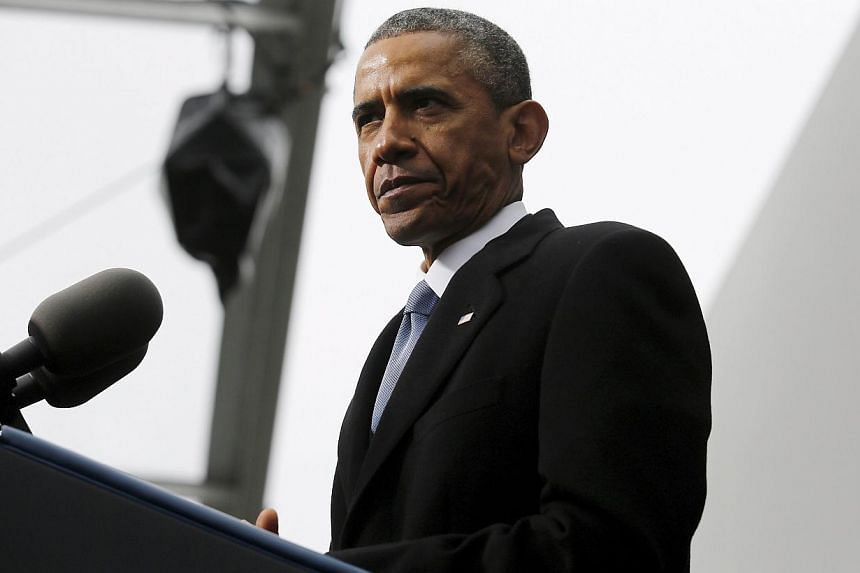 Following days of obstruction from lawmakers in President Barack Obama's own Democratic party, the Senate advanced a bill on Thursday allowing him to finalise swiftly a landmark Pacific trade pact. -- PHOTO: REUTERS