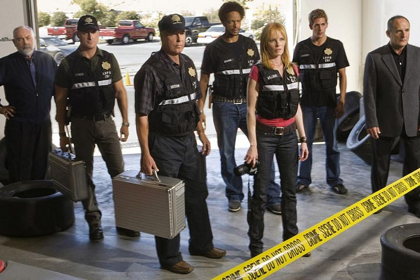 Popular police drama CSI: Crime Scene Investigation will end its 15-year run with a two-hour finale on Sept 27, 2015. -- PHOTO: AXN