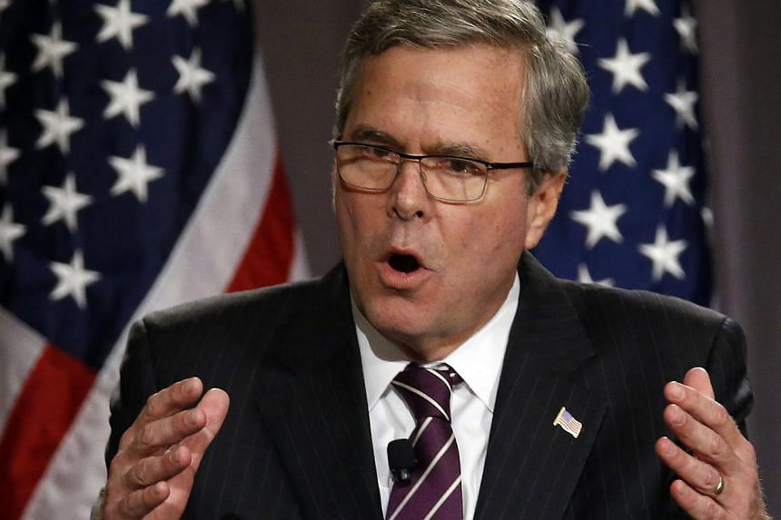 Republican Jeb Bush (above) reversed field on Thursday after a week of criticism and said that based on information known now, he would not have launched the Iraq war carried out by his brother, former President George W. Bush.-- PHOTO: REUTERS