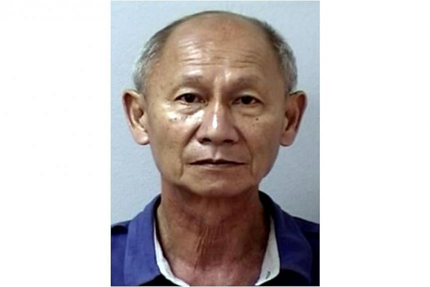 Over seven years, Lee Kim Sai withdrew more than $20,000 from the bank account of his colleague. -- PHOTO: SINGAPORE POLICE FORCE