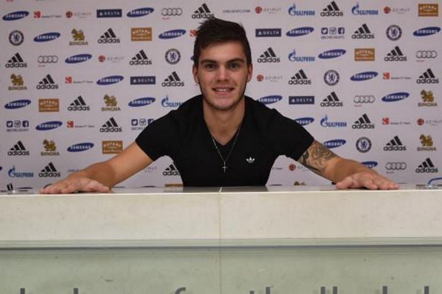 Chelsea's Brazilian contingent will grow in size to five players after they agreed to sign teenager Nathan (above) from Atletico Paranaense on Thursday. -- PHOTO: TWITTER
