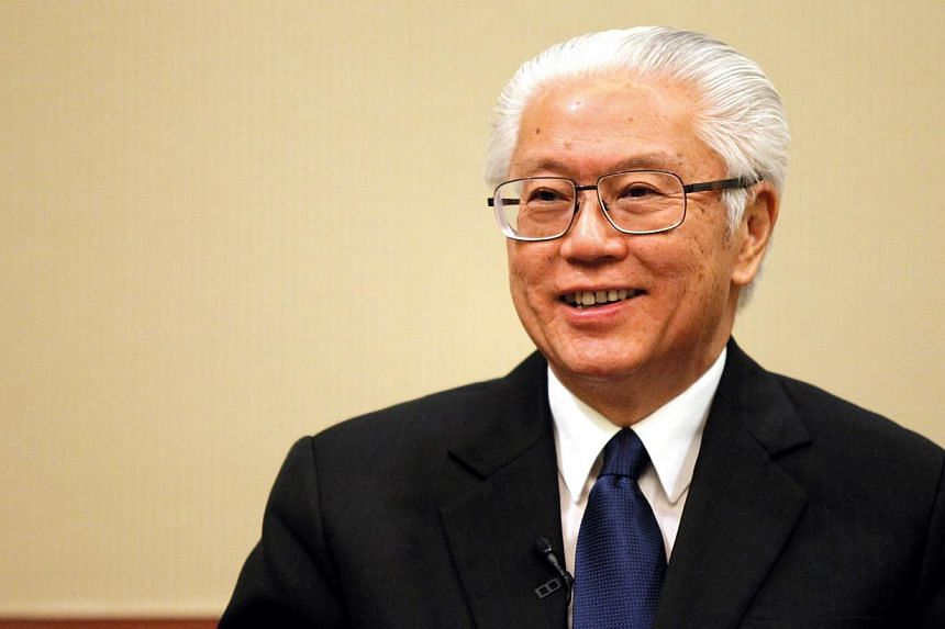President Tony Tan Keng Yam will arrive in Paris on Sunday for a seven-day state visit. -- PHOTO: ST FILE