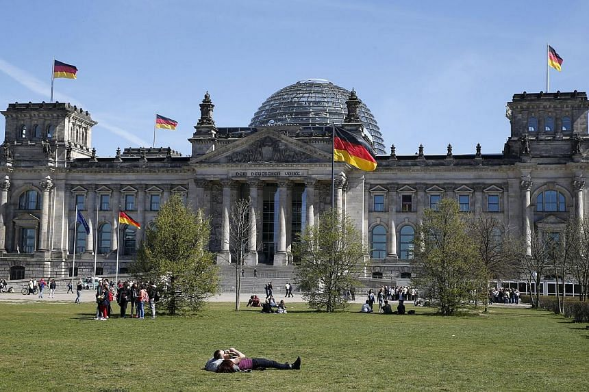 The Reichstag building, seat of the German lower house of parliament Bundestag, in Berlin, April 20, 2015. The German Bundestag lower house of parliament is trying to repair its computer system after a hacking attack but there are no indications