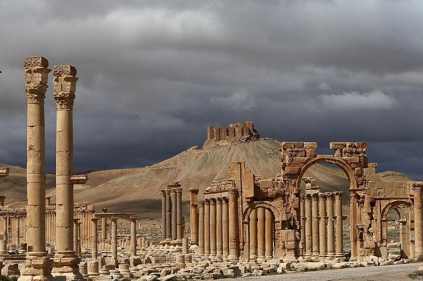 Apartial view of the ancient oasis city of Palmyra, north-east of Damascus on March 14, 2014. Islamic State in Iraq and Syria (ISIS) militants have withdrawn from areas in Palmyra they had seized on Saturday, May 16, 2015, a group monitoring th