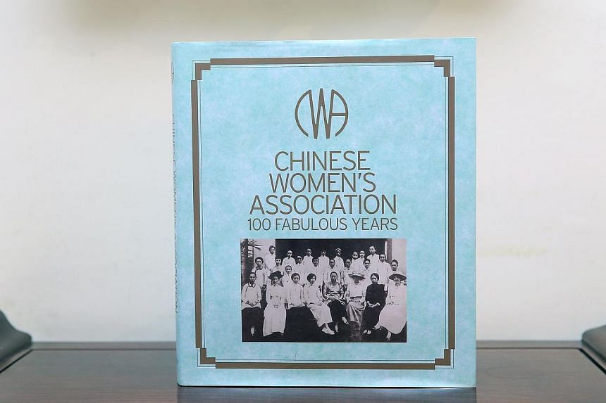 Mrs Betty Chen took over the presidency of the Chinese Women's Association from her mother after she died. The oldest women's association in Singapore turns 100 this year (above).