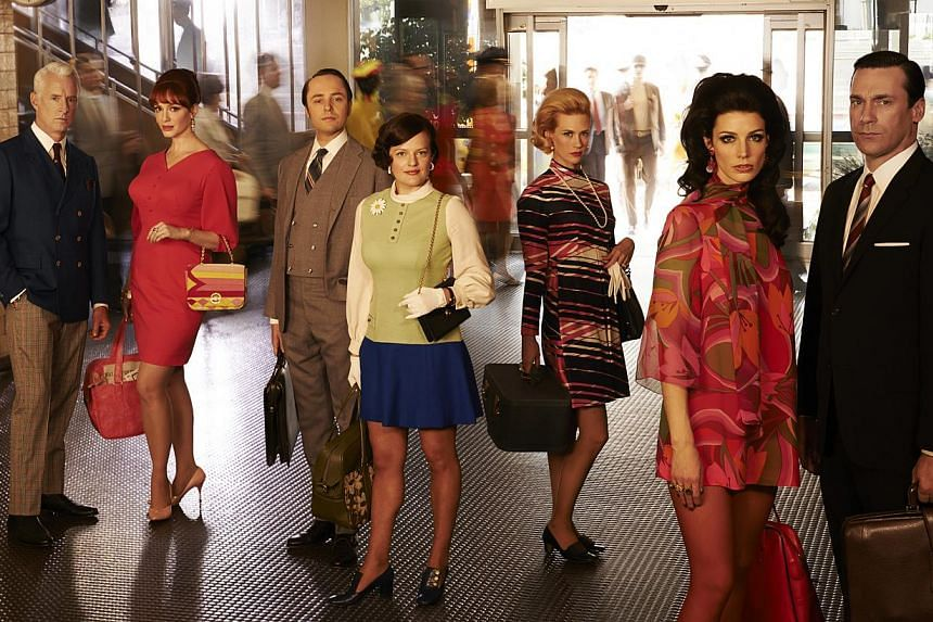 A still from Mad Men. After eight years and multiple Emmy Awards, the show pulled down the shutters on a turbulent decade with an ending that was one of the best-kept secrets in television drama. -- PHOTO: FX