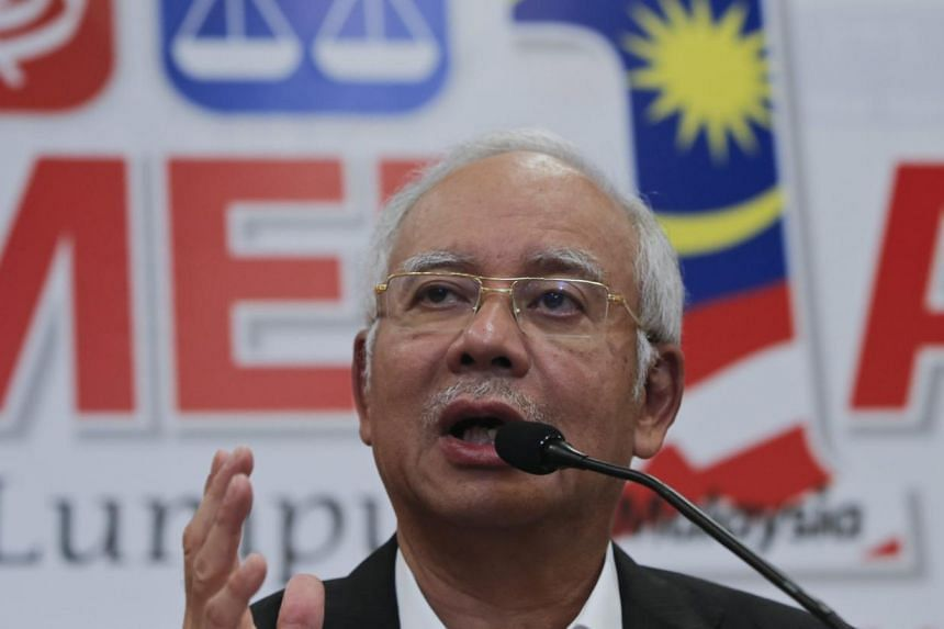 Malaysia's Prime Minister Najib Razak speaking to members of the media during a news conference at Kuala Lumpur, Malaysia, on May 11, 2015. He posted FAQs (Frequently Asked Questions) on his blog in an unprecedented move to counter criticism against