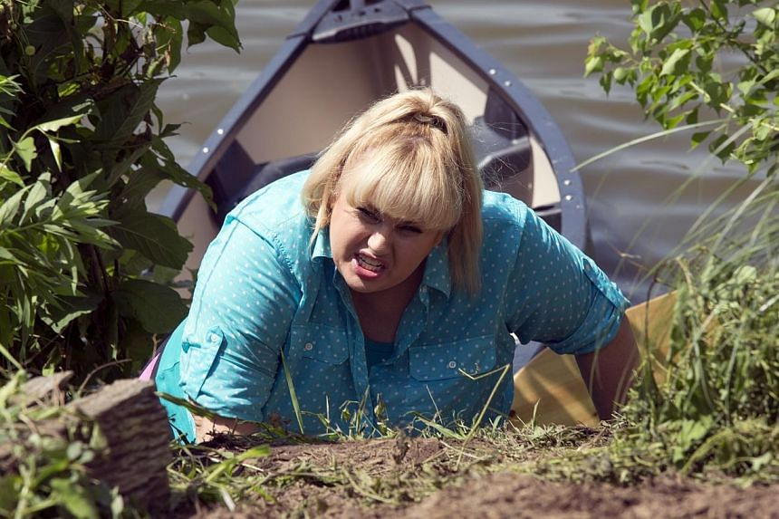 Rebel Wilson stars in Pitch Perfect 2. -- PHOTO: UIP