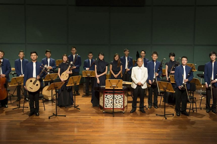 The ensemble will accompany Taiwanese singer Tang Na in a concert tomorrow. -- PHOTO: DING YI MUSIC ENSEMBLE