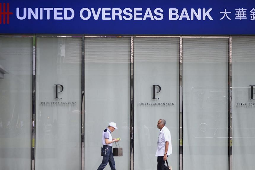 United Overseas Bank (UOB) on Tuesday announced that it doubled its customers making foreign direct investments (FDI) into South-east Asia last year. -- PHOTO: ST FILE