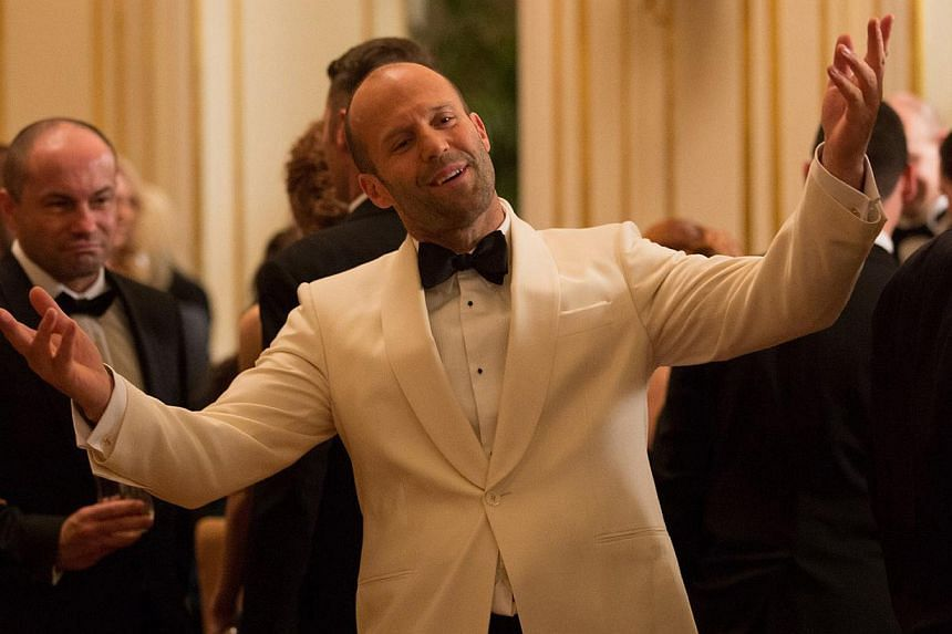 Jason Statham as compromised agent Rick Ford, who talks big but is something of a dimwit. -- PHOTO: TWENTIETH CENTURY FOX