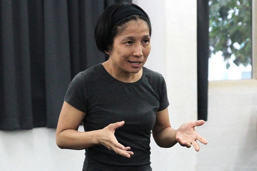 Ang Gey Pin (above) is the director of Q: Protagonists At The Edge. -- PHOTO: INTERCULTURAL THEATRE INSTITUTE