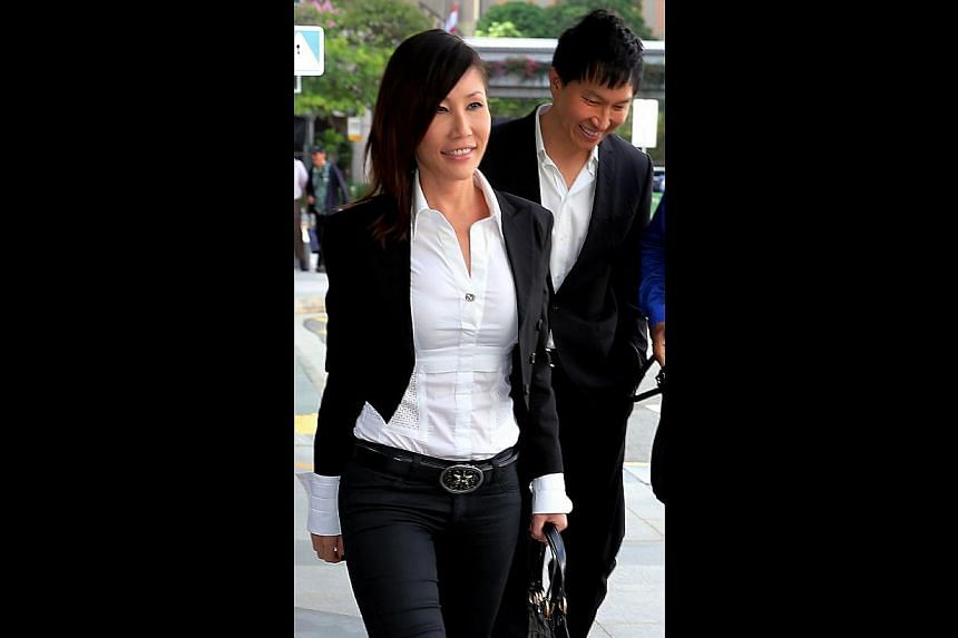 Former investment manager Chew Eng Han, who is one of the accused, is conducting his own defence. Ms Ho Yeow Sun and her husband Kong Hee outside court yesterday. Ms Ho was taking the stand for the first time in the trial involving the alleged misuse