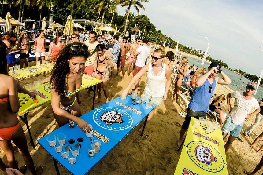 Tanjong Beach Club aims to foster an island culture with music and lifestyle activities. -- PHOTO: THE LO & BEHOLD GROUP